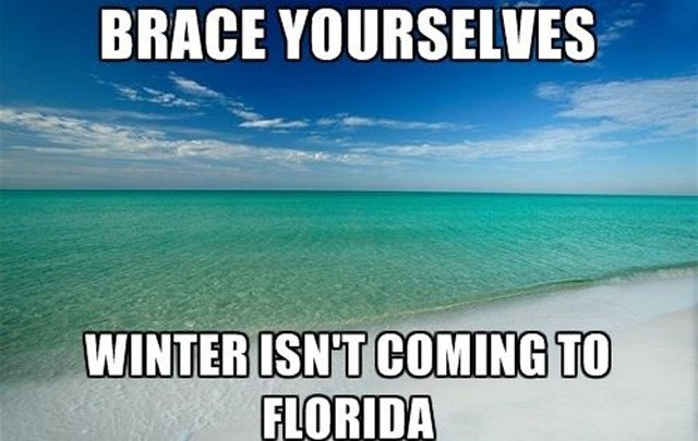 Our Winter is Better than Yours! Orlando Travel