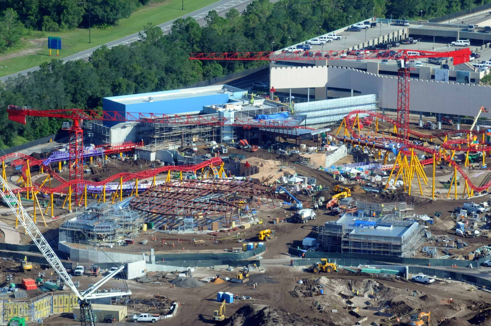 Hollywood Studios Builds Edge of the Galaxy & Toy Story Land
