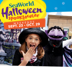 SeaWorld Orlando Halloween Spooktacular Starts This Weekend!