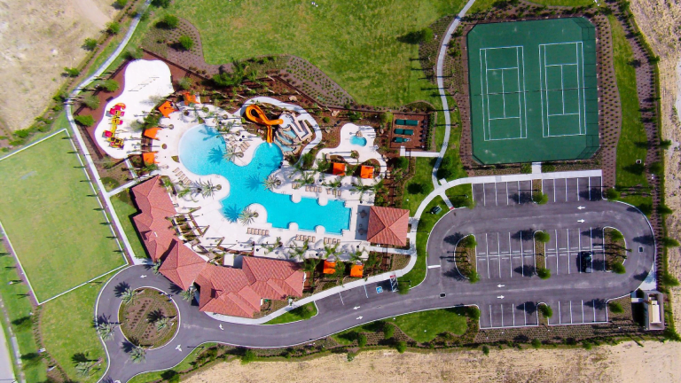 Solterra Resort Aerial View