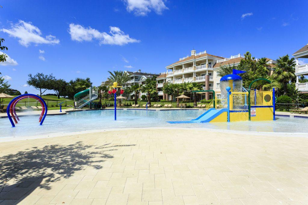 Sandy Ridge Splash Pad Reunion Resort