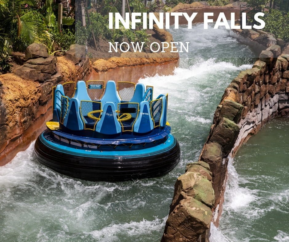 Sea World's Infinity Falls – NOW OPEN