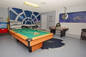 Star wars game room
