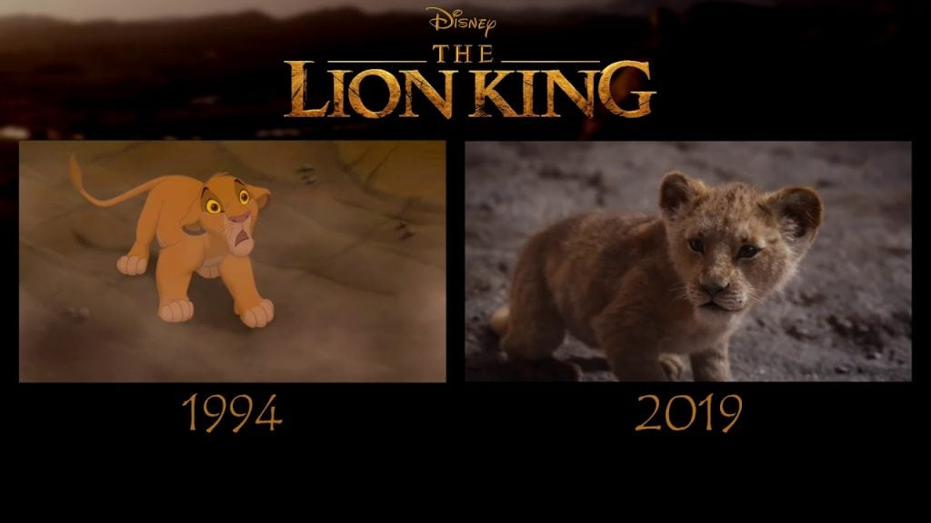 Disneys The Lion King Remake 2019