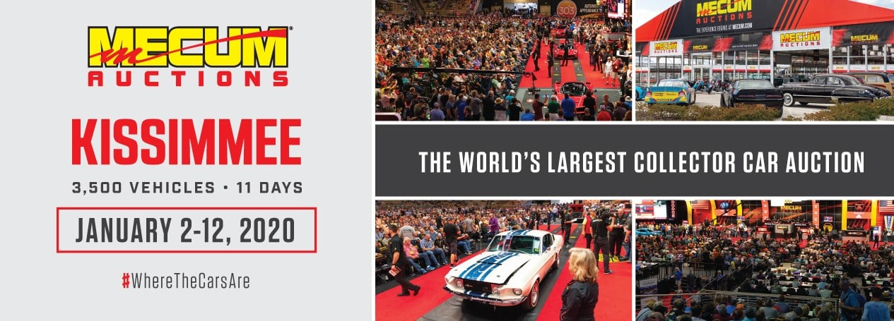 Mecum Auctions brings Largest Collector Car Auction to Kissimmee