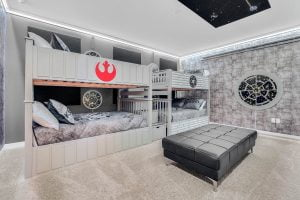 Image of Star Wars themed room