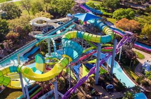 Images of Adventure Island, Discovery Cove, Blizzard Beach and Island H2O Live!