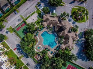 Aerial view of Windsor Palms amenities
