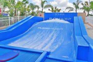 Flowrider surf/wake simulator