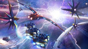 Artist impression of Guardians of the Galaxy: Cosmic Rewind EPCOT