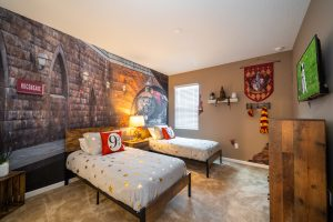 Image of Harry Potter themed bedroom