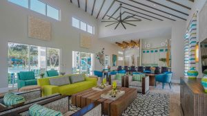 Images of amenities on Veranda Palms