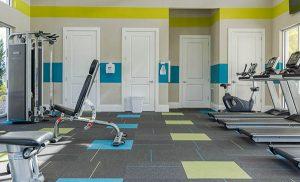 Images of Veranda Palms fitness center and pool slides