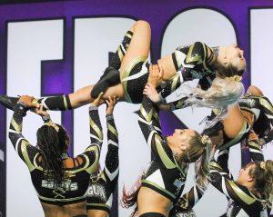 Image of Top Gun cheerleading team
