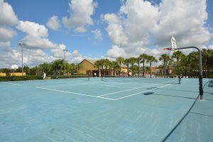Image of Paradise Palms tennis courts