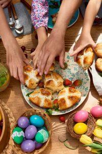 Image of hot cross buns