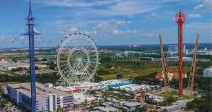 Image of Orlando Eye and other rides