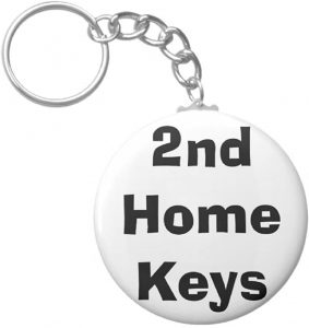 Image of keys to 2nd home