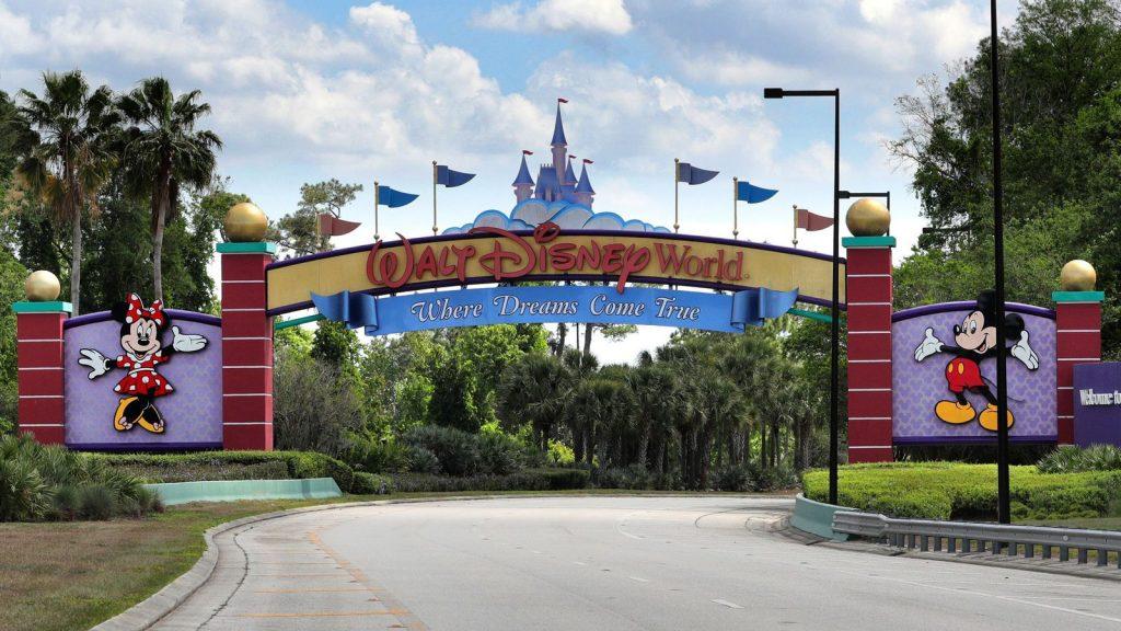 Image of WDW gates