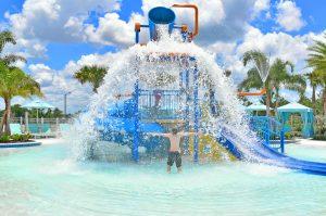 Solara Resort kids splash zone