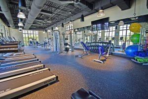Solara Resort fitness center