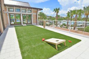 Solara Resort outdoor gaming zone